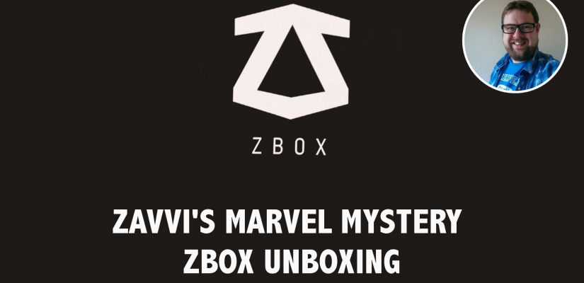 Zavvi Zbox Marvel Mystery Box – Unboxing